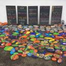 Selection of artistic small stones